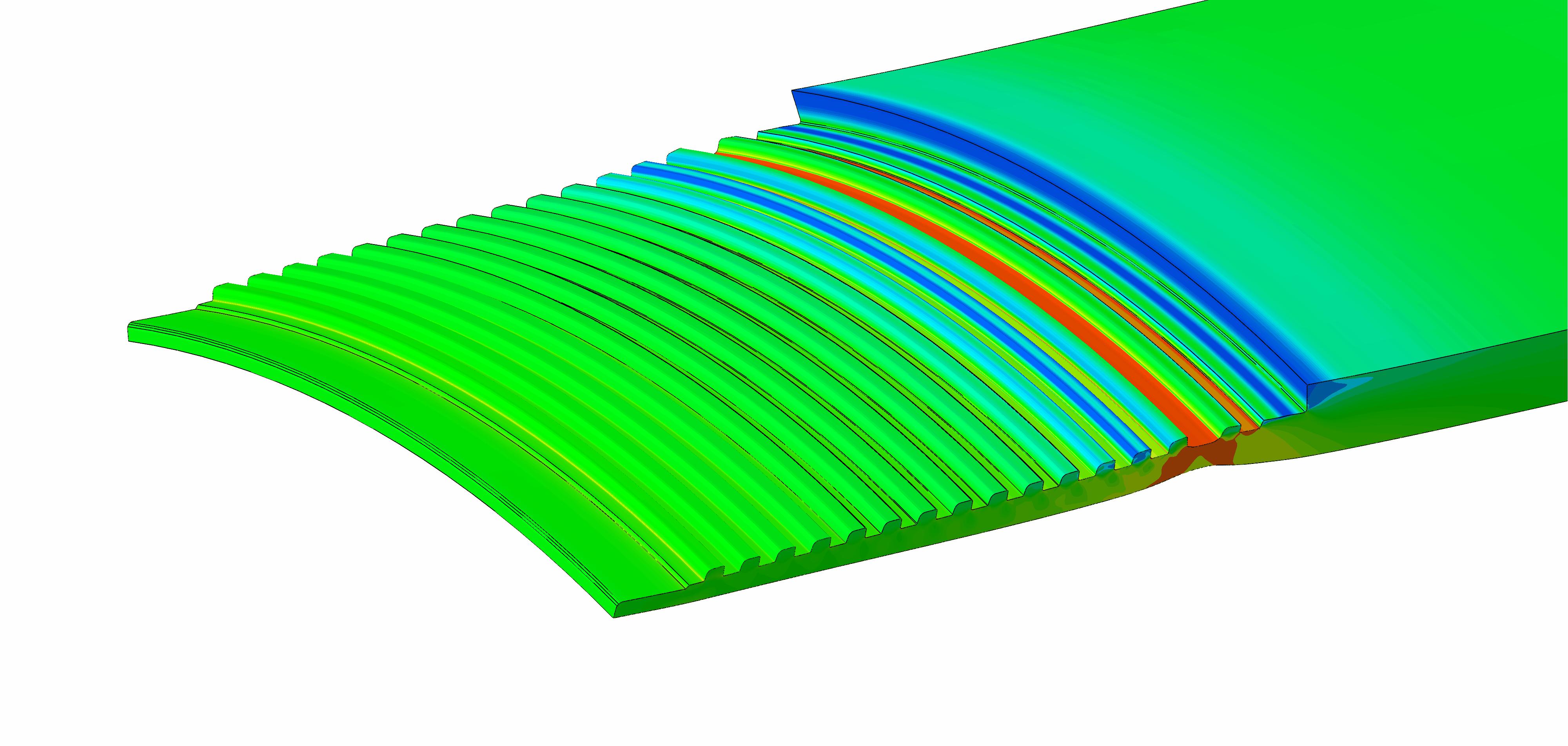 Axial Load Capacity of Proprietary Buttress Thread | FE