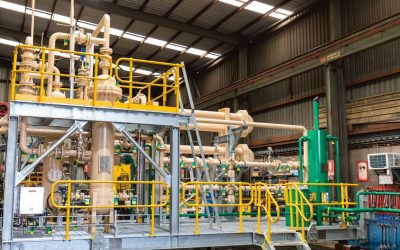 Full structural, mechanical, and piping design of skid package