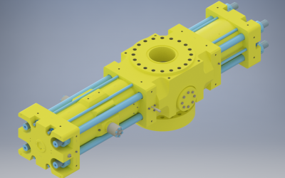 Blowout Stopper Mechanical Design and Drafting